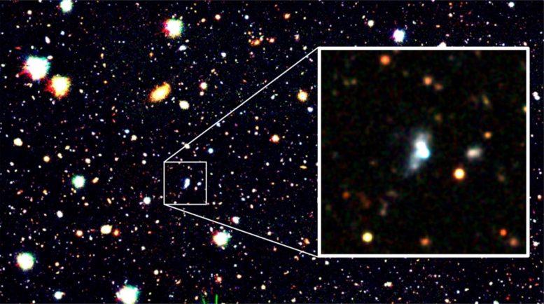 天文学家以AI技术,找到氧含量最低的星系