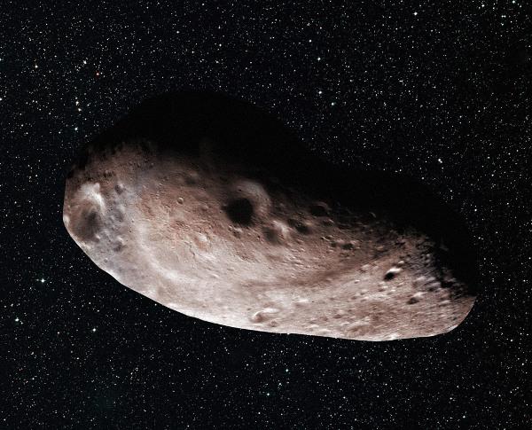 柯伊伯带天体2014 MU69的艺术概念图,它是自冥王星系统之后新视野探测将飞掠的下一个目标。根据2017年7月17日在阿根廷对其掩星观测数据的分析,天文学家推断出它可能拥有一颗紧密甚至相接的卫星(上图),或者自身具有一块巨大的突出物(下图)。版权:NASA/JHU-APL/SwRI/Alex Parker