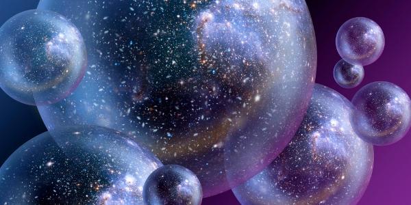 [图片说明]:根据量子力学的解释,多重宇宙则来自对微观世界的多重世界解释。