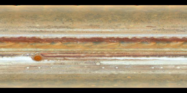 (图片来源:NASA,ESA,A。Simon(戈达德太空飞行中心)和MH Wong(加州大学伯克利分校)